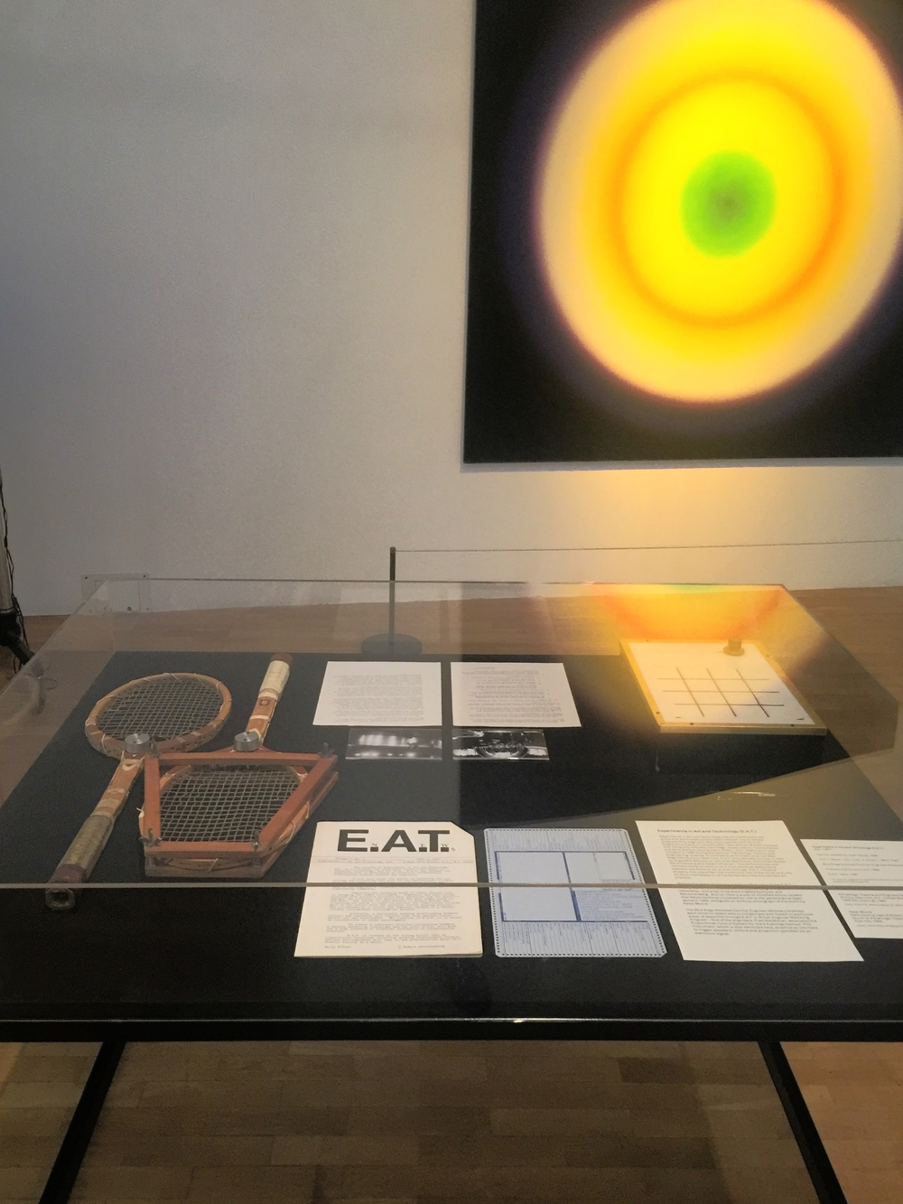 E.A.T. Experiments in Art and Technology, ephemera and papers (1966)