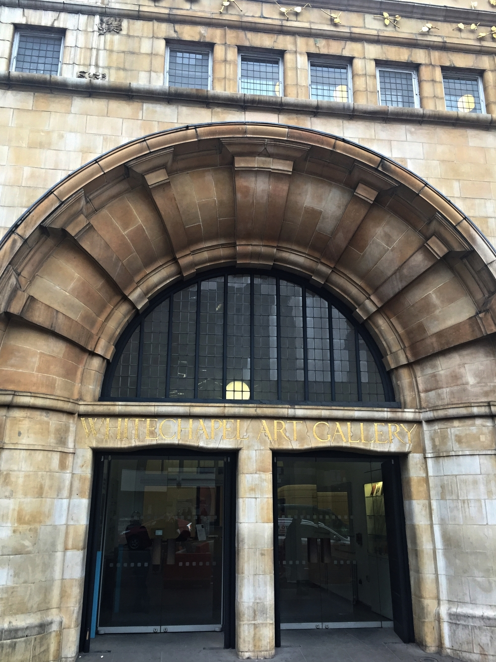 The unassuming and traditional facade of Whitechapel Gallery hides one of the most important contemporary public art galleries in London.