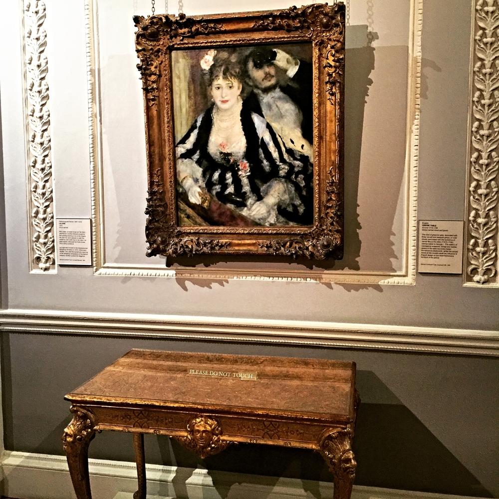 Pierre Auguste Renoir, La Loge  (1874)