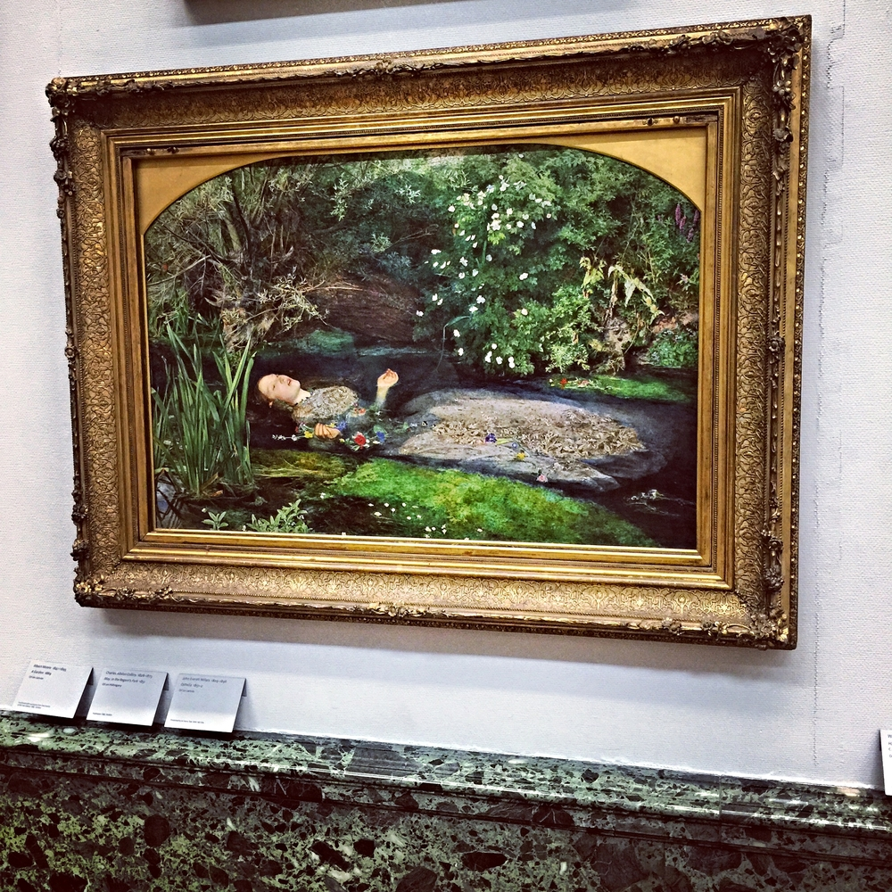 John Everett Millais, Ophelia  (1851)