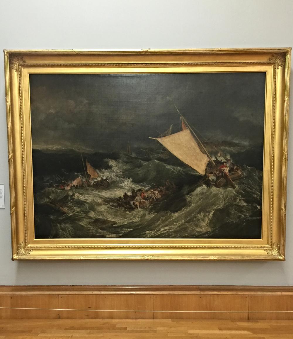 J.M.W. Turner, Shipwreck  (1805)