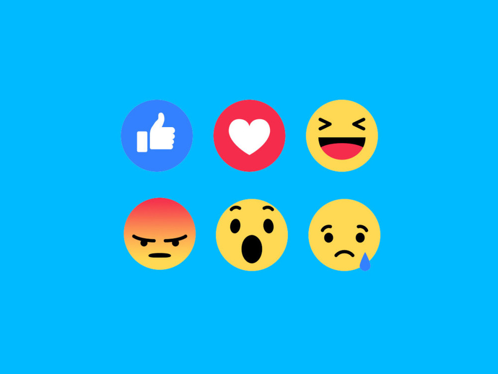 """Facebook Reactions, the Totally Redesigned Like Button, Is Here"""