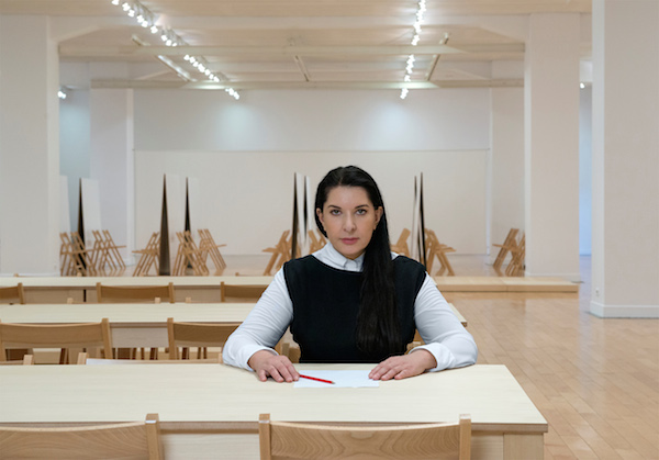 """Marina Abramović Brings Her 'Method' to a Younger Generation of Performers in Athens"""