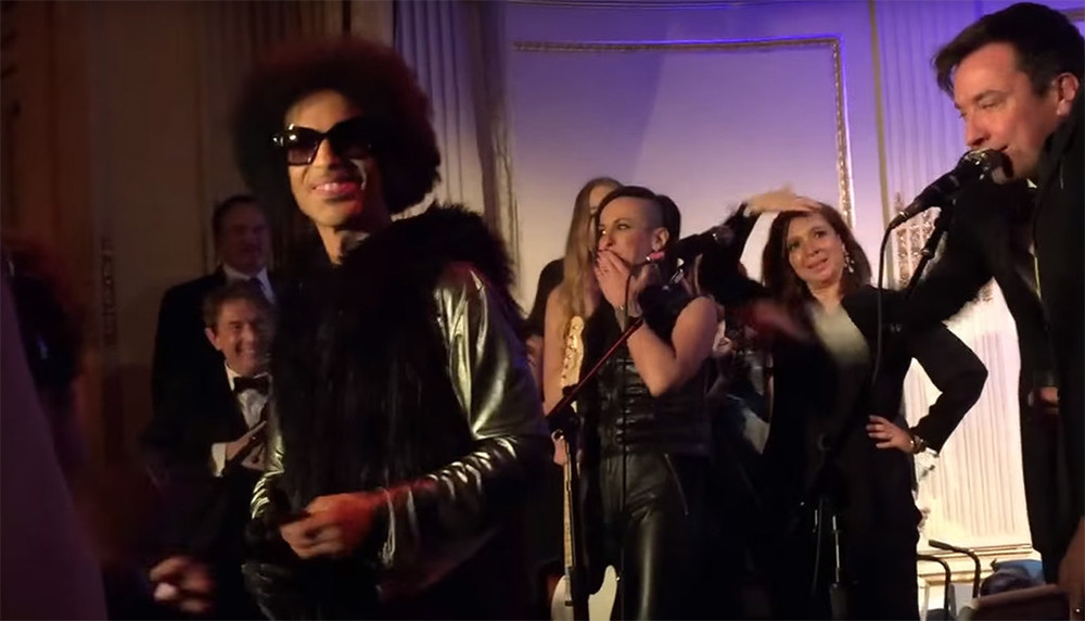 """Watch Prince's Epic Performance at the 'SNL' 40th Anniversary After-Party (VIDEO)"""