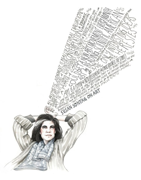"""Susan Sontag on How the False Divide Between Pop Culture and ""High"" Culture Limits Us"""