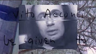 """Vito Acconci 