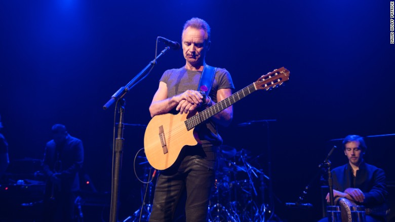 """Sting Reopens Bataclan One Year After Paris Attacks"""