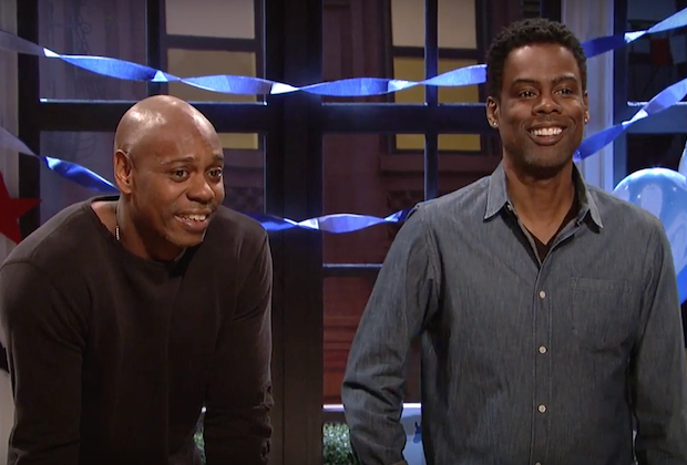 """Saturday Night Live w/Dave Chappelle Election Night Skit"""