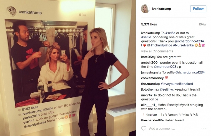 """Richard Prince Disowns His Ivanka Trump Portrait, Possibly Increasing Its Value"""