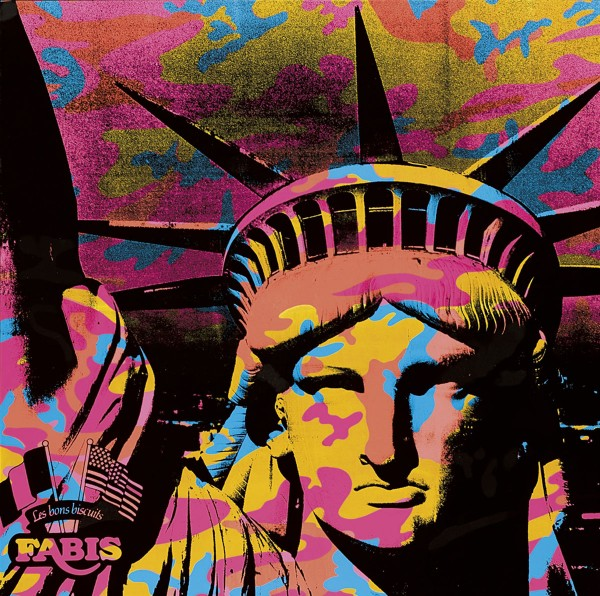 Andy Warhol,  Statue of Liberty  (1986)