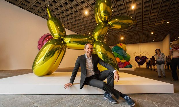 """Jeff Koons plagiarised French photographer for Naked sculpture"""