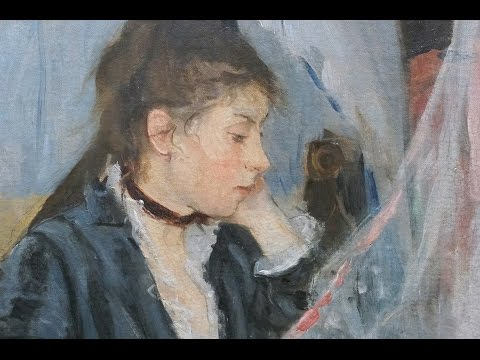 """Smarthistory: Morisot, The Cradle, 1872 (VIDEO)"""