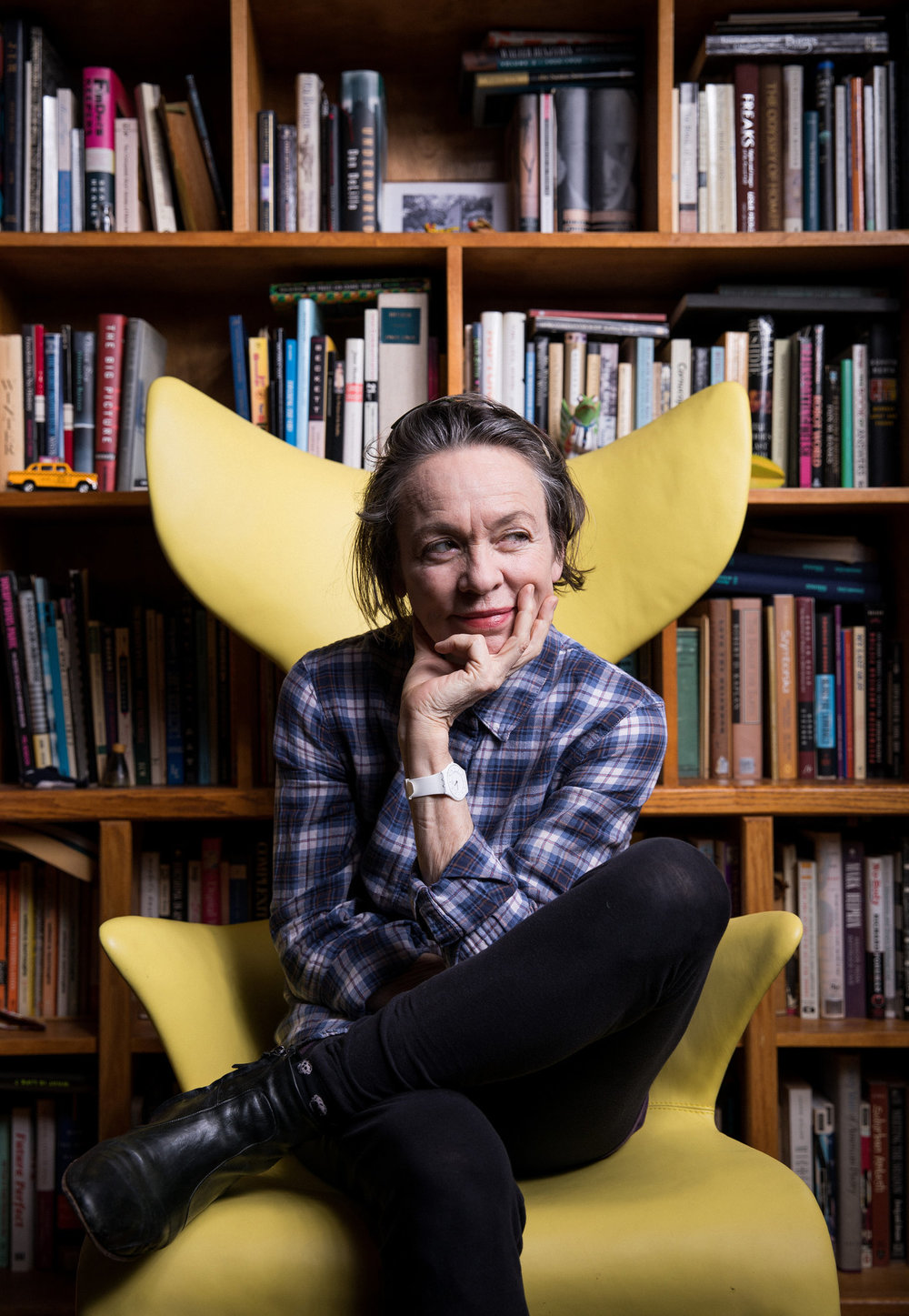 """Laurie Anderson's Glorious, Chaotic New York"""