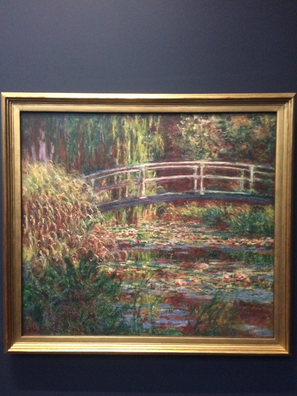 Monet, Le Bassin aux nympheas, harmony rose  (1900).