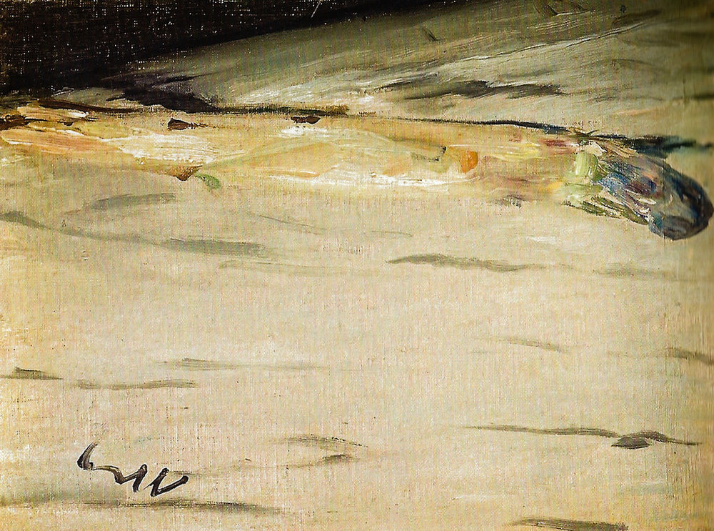 Edouard Manet, Asparagus (1880) was Kenneth's assigned painting from the Orsay collection.