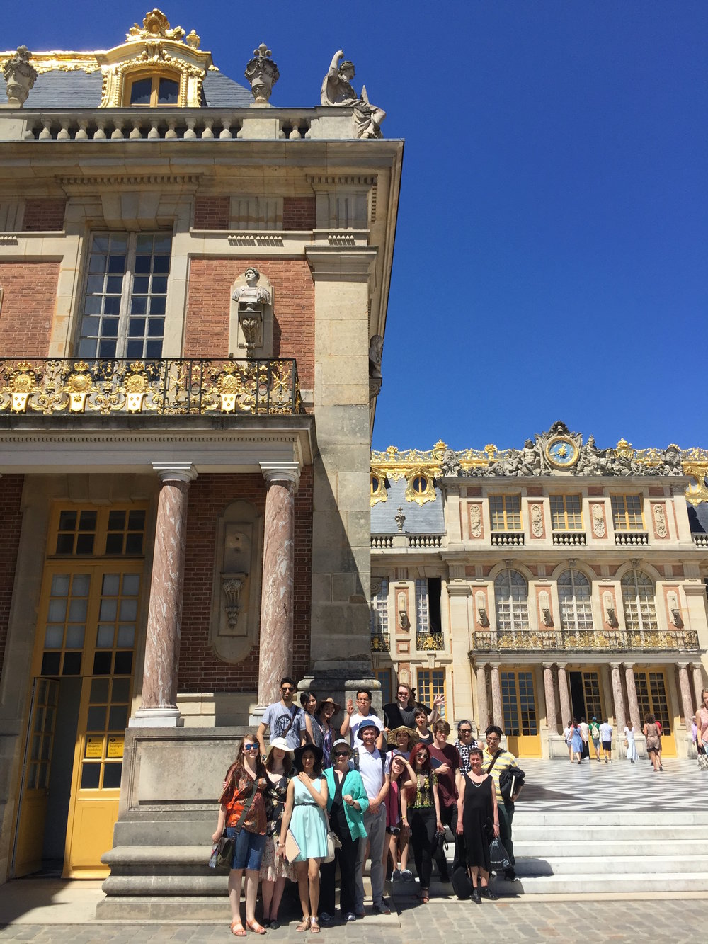 Our group did a day trip to the Palace of Versailles to visit the home of Louis XIV.