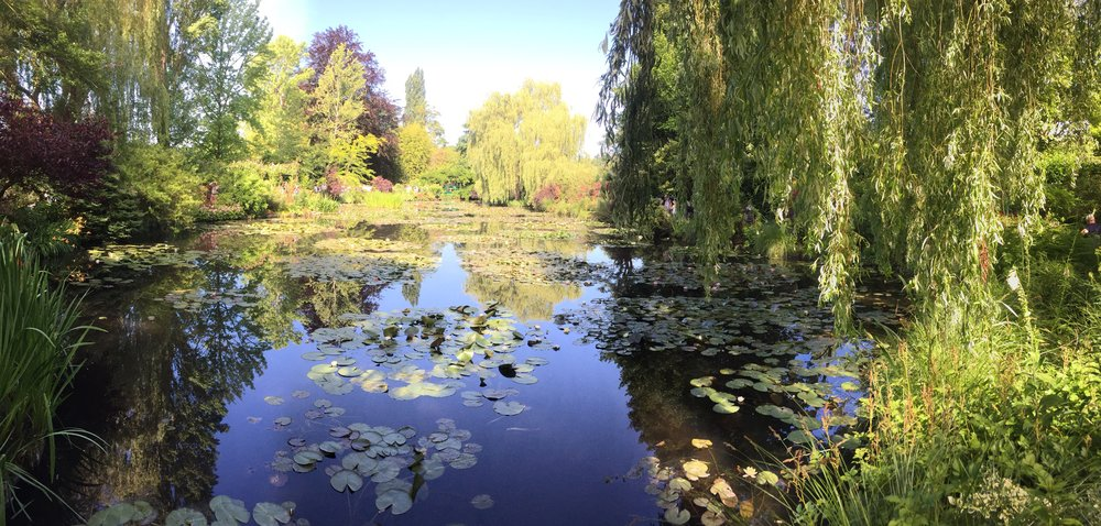 Traveling out to Giverny to see and experience Monet's gardens.
