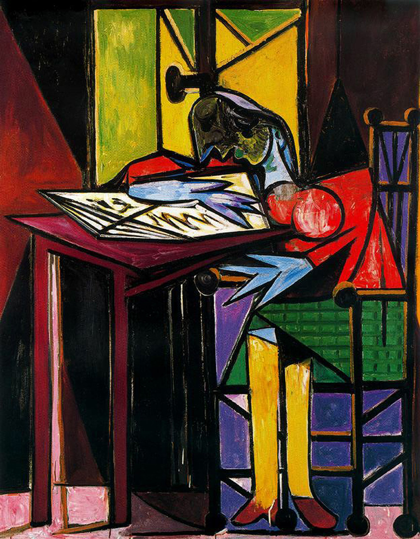 Pablo Picasso,  Woman Reading  (1935)