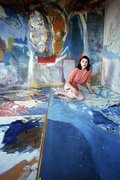 """How Helen Frankenthaler Pioneered a New Form of Abstract Expressionism"""