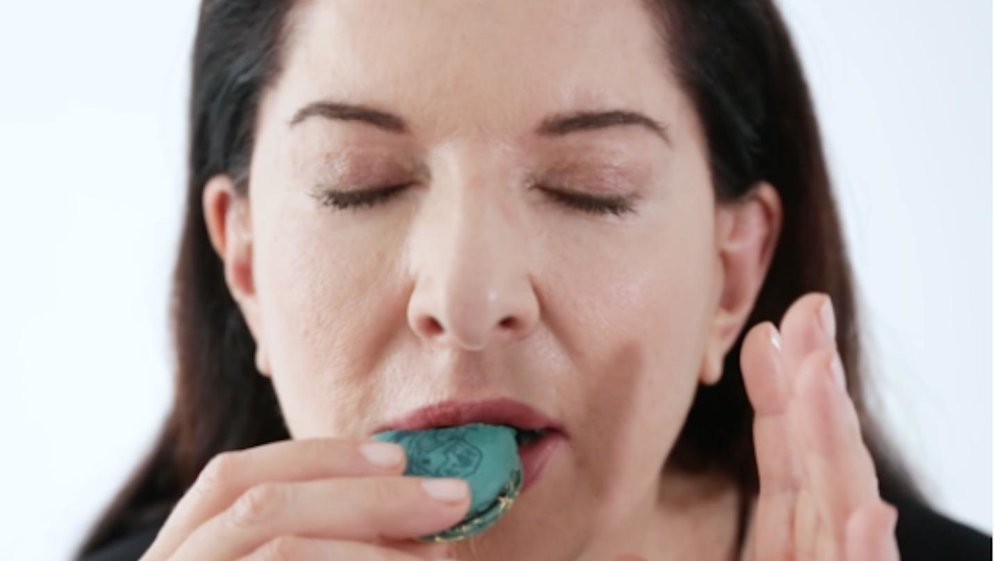 """Marina Abramović is Selling Macarons That Taste Like Her"""