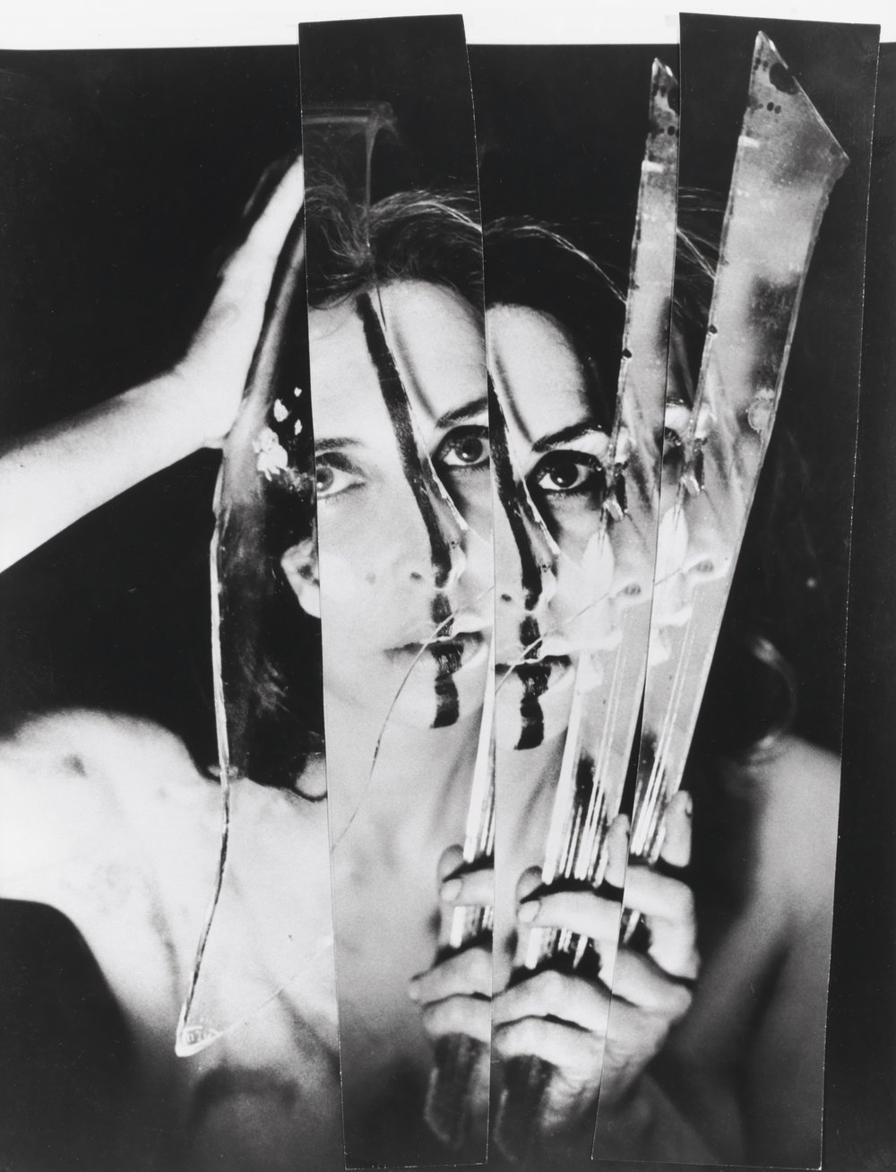 Carolee Schneemann,  Eye Body: 36 Transformative Actions for Camera  (1963).