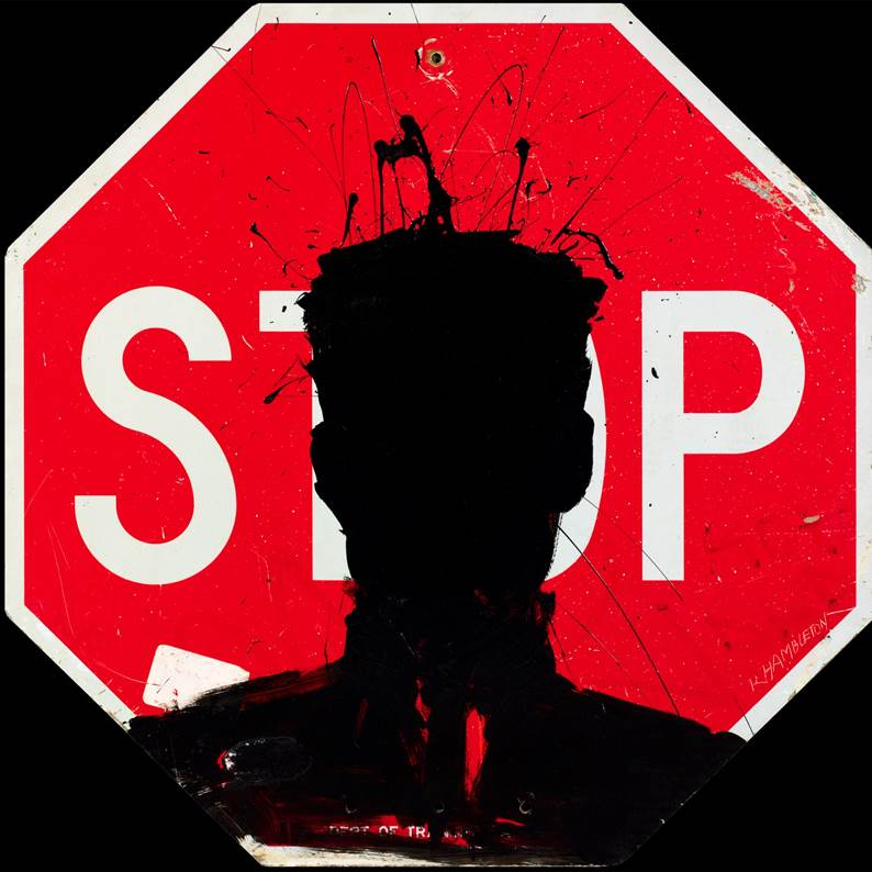 Richard Hambleton, Stop Sign (c. 1980s). Hambleton, the subject of the recent film Shadowman (that I recommended during VIFF) sadly passed away this past week at the age of 65. Hambleton was a contemporary of 1980s street and celebrity NYC artists Jean-Michel Basquiat and Keith Haring, and was recently being rediscovered by the art world after spending decades off the radar.