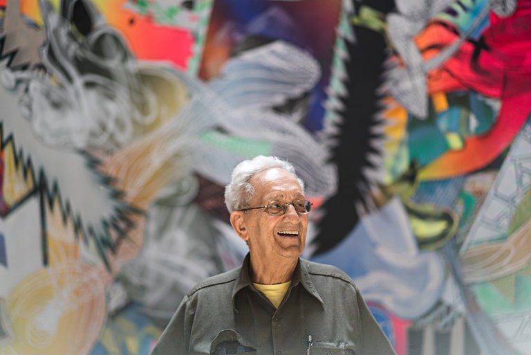 """Frank Stella's Favorite Cities for Art"""