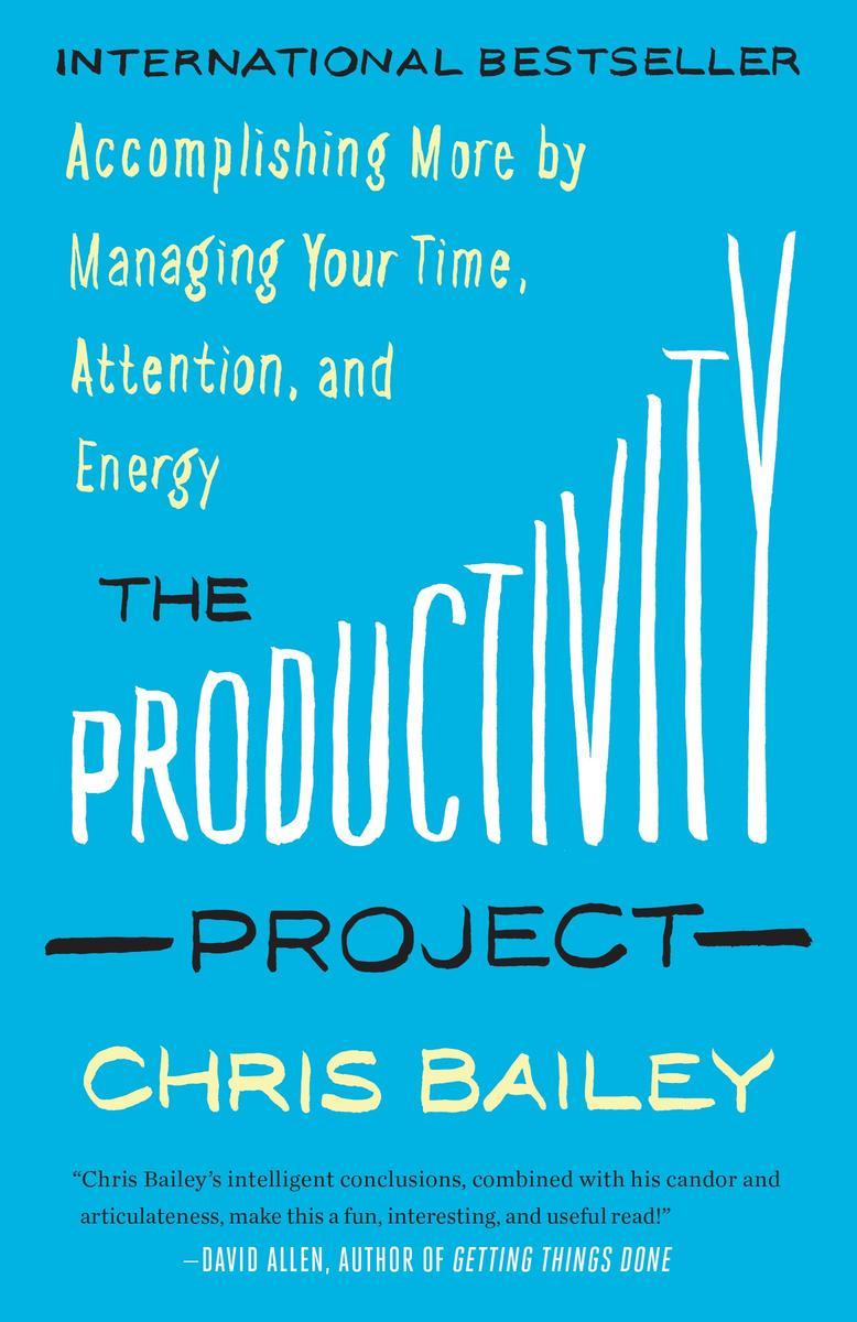 Bailey's book was an eye-opening read. Work with focused intensity over shorter periods of time. Interval training for the brain.