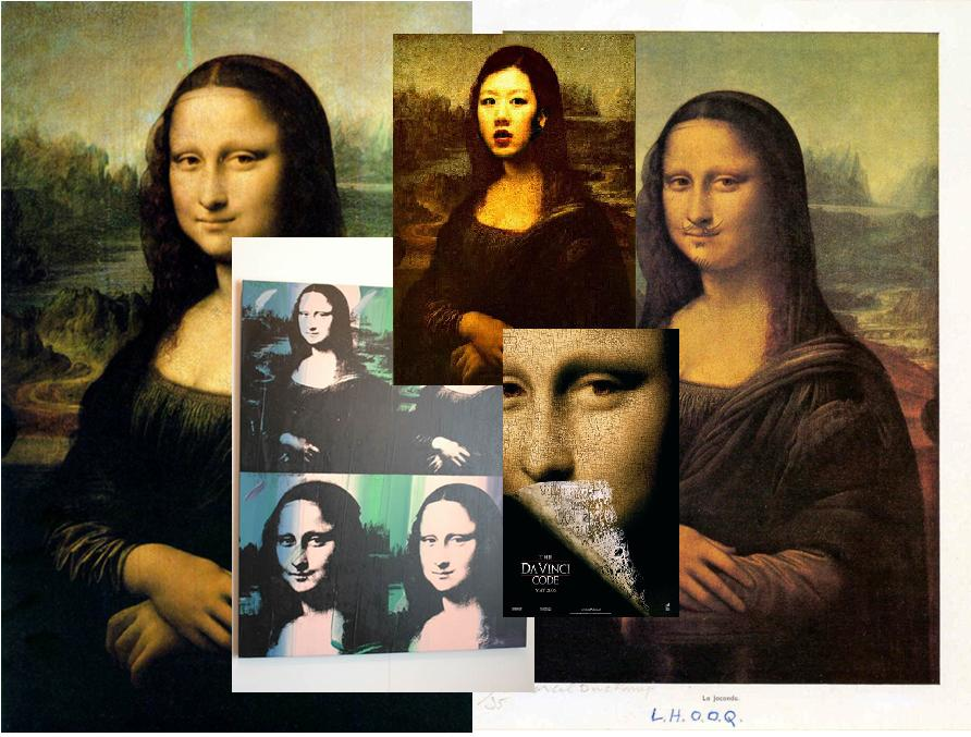 Addressing the basic categories of FORM, CONTENT, and CONTEXT helps make sense of the multiplicity of  Mona Lisa s assembled here