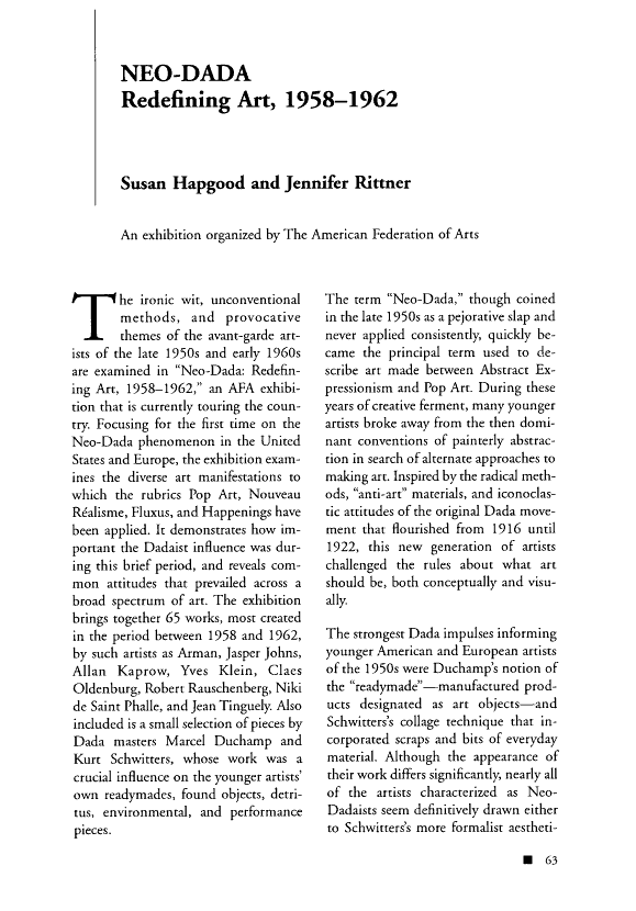 A peer-reviewewd article from  Performing Arts Journal   found using JSTOR database