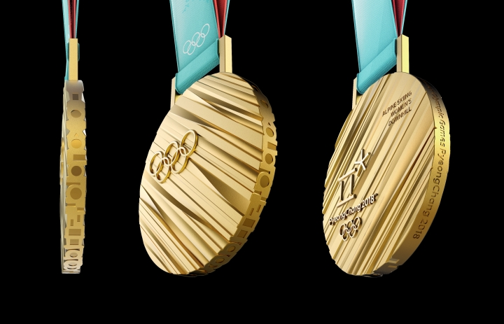 """The Story Behind This Year's Winter Olympics Medal Design"""