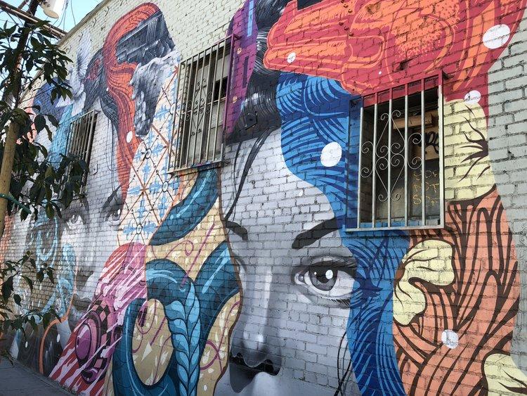 Location Los Angeles Reflections On La S Street Art Scene Avant