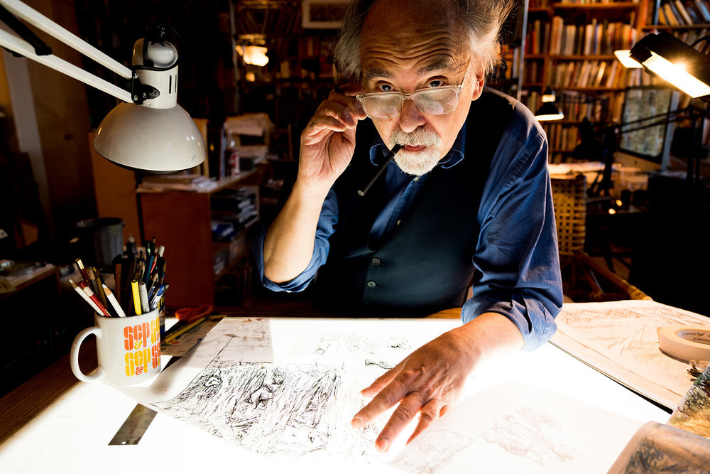 """'Drawing Is Always a Struggle': An Interview with Art Spiegelman"""