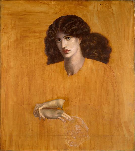 Dante Gabriel Rossetti, La Donna della Finestra  (1881)