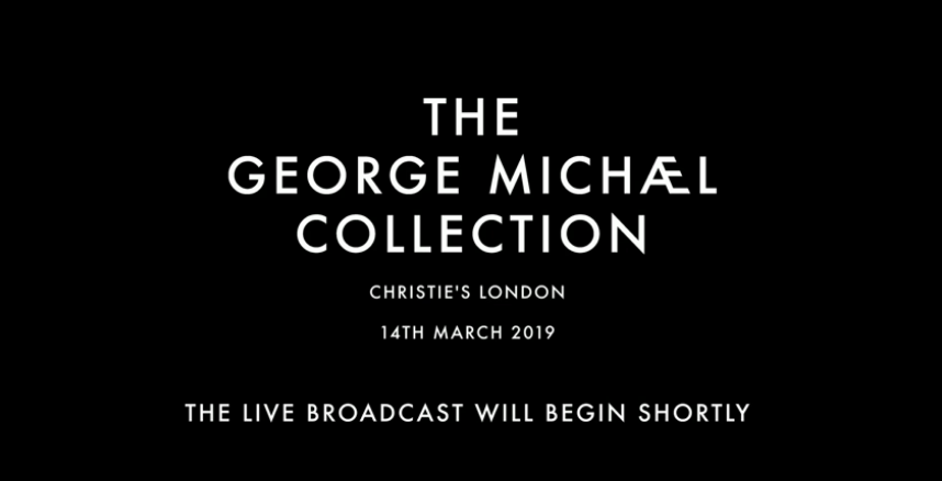 Christie's Live Stream | The George Michael Collection, London | 14 March 2019 | (VIDEO)