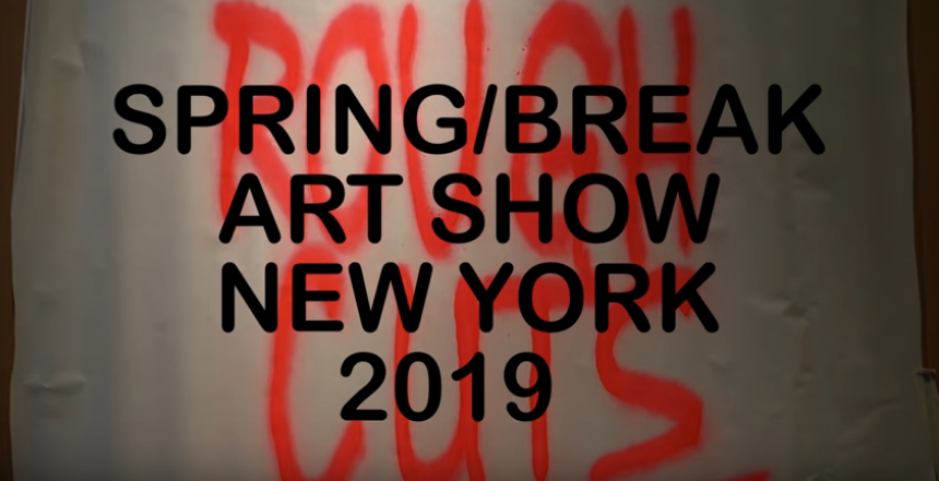 Spring/Break Art Show New York (VIDEO)