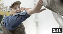 Studio visit with Frank Stella | Christie's (VIDEO)