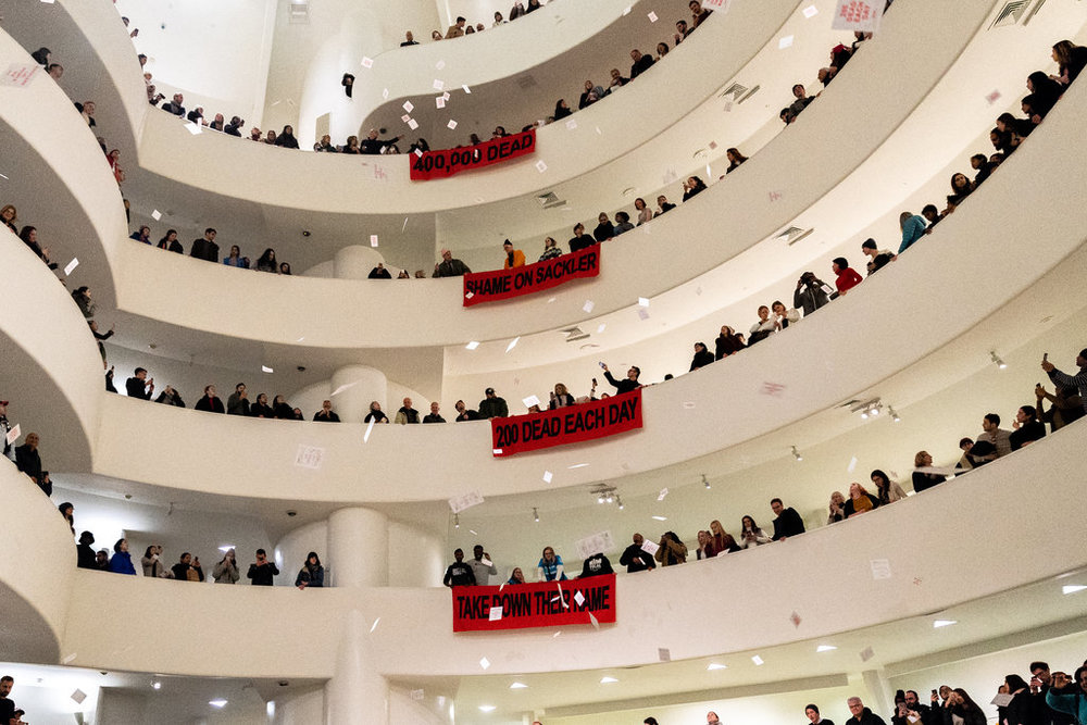 Guggenheim Museum Says It Won't Accept Gifts From Sackler Family