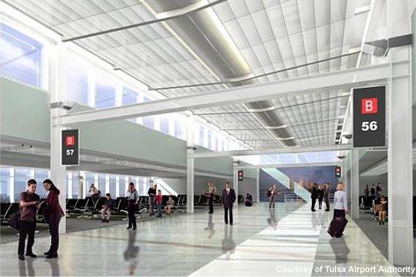 Tulsa Airport - Concourse A