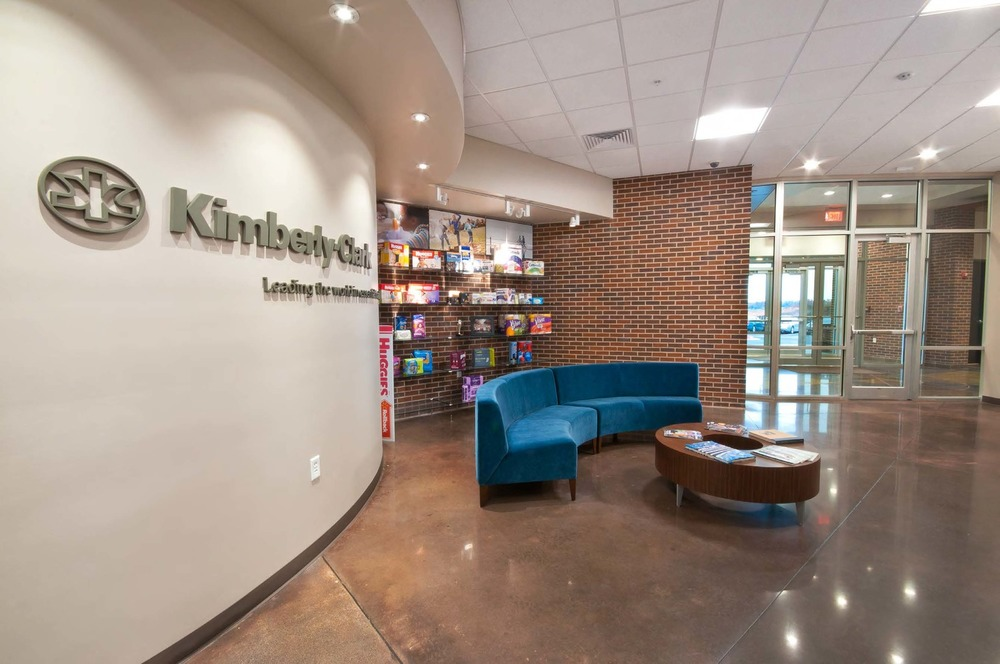 Kimberly Clark Office Expansion