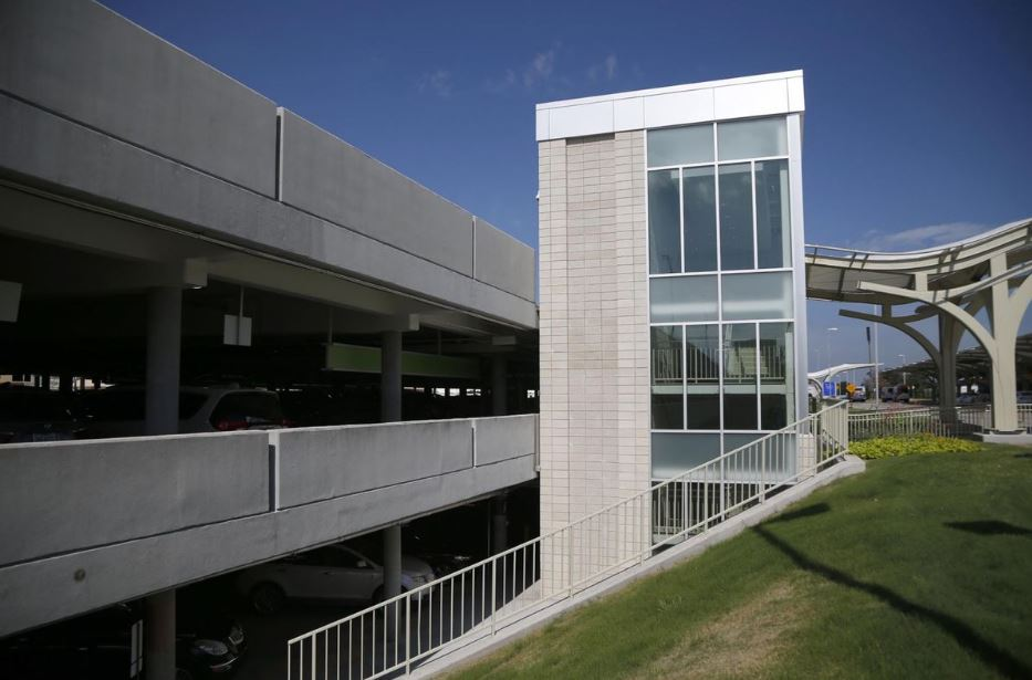 Tulsa International Airport - Parking Garage Renovation