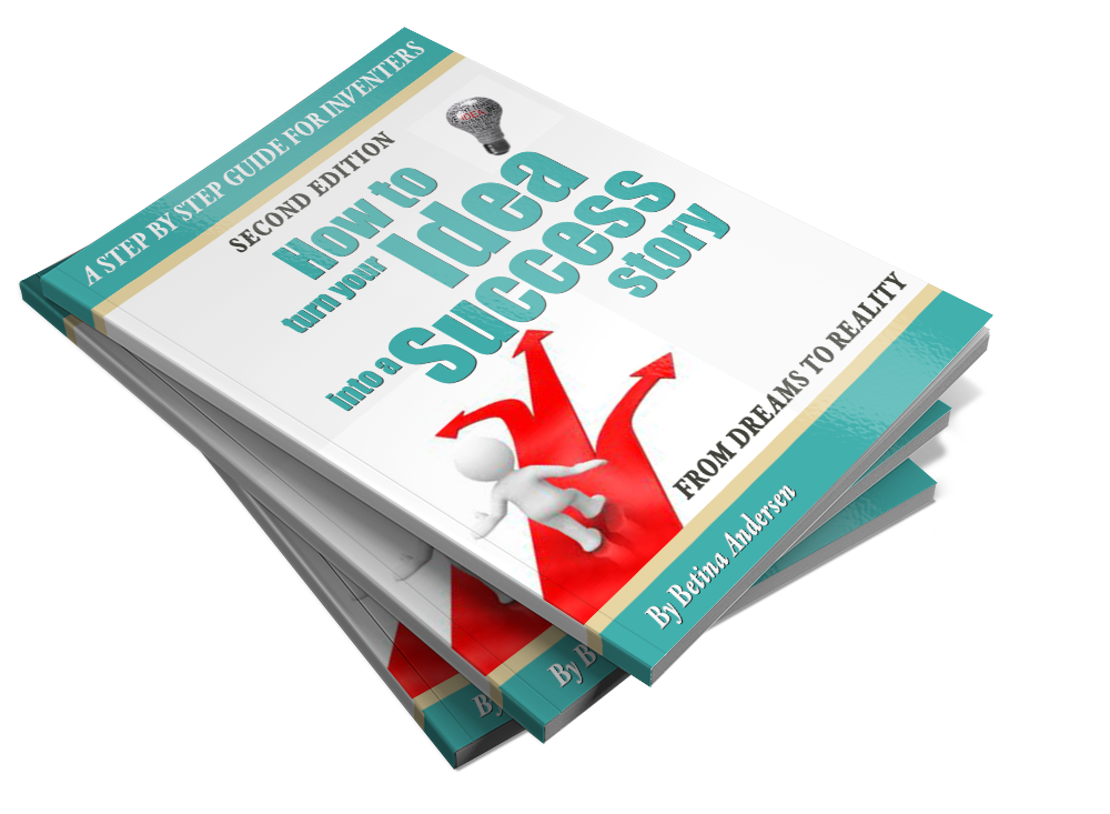 "Learn how to develop a product from scratch with the Free guide ""  How To Turn Your Idea Into a Success Story""."