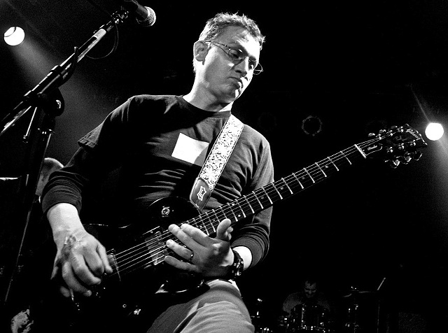 "Matt Talbott AO Gear: Everything Guitarist, lead singer, and song writer for the alternative band Hum and now the band Centaur, Matt is best known for the single massive pop song called ""Stars"" in 1995. Matt also owns and operates Earth Analog, a recording studio outside Champaign, IL."