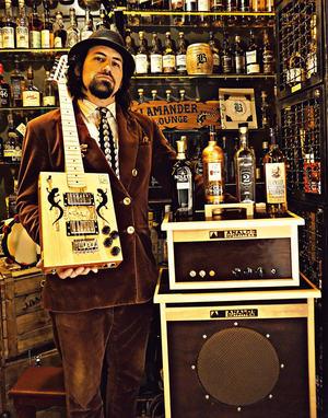AO Gear: Organic 15, Organic 30 Combo, 1x12 Cab Most Recent Album: Salamander Lounge