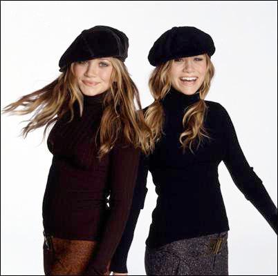 Olsen Twins in Berets