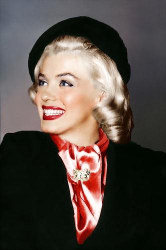 Marilyn in a Beret