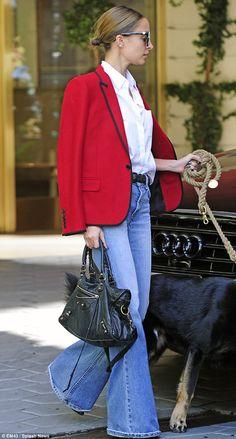 Nicole Ritchie with Black Balenciaga Handbag