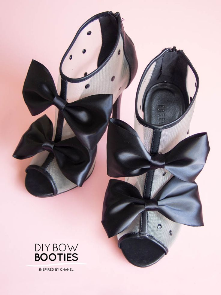 Chanel Bow Booties