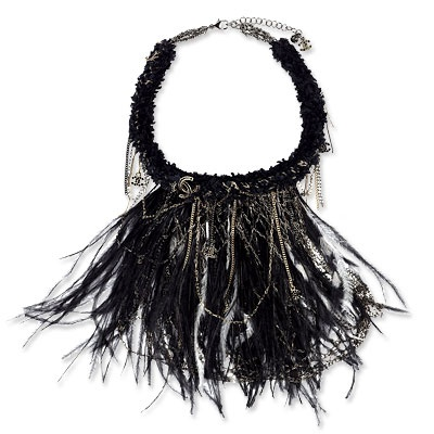 Chanel Feather Necklace