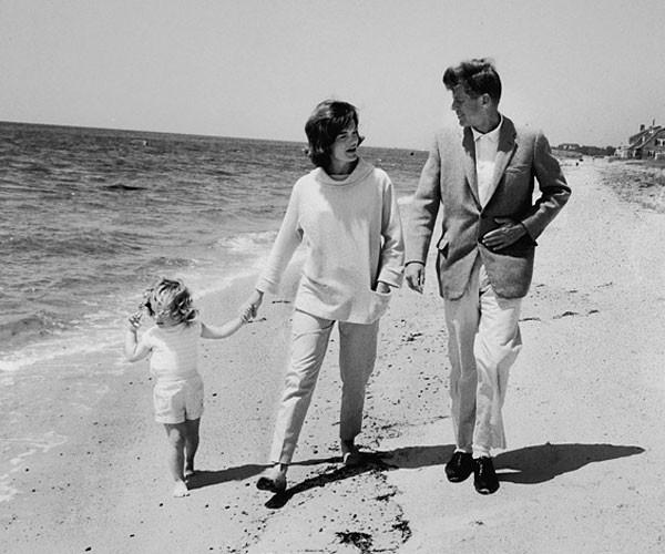 Jackie JFK beach